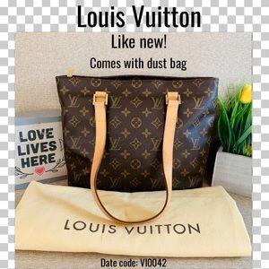 Louis Vuitton Shoulder bag cabas piano monogram